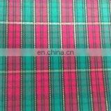 Plaid grosgrain Christmas Ribbon Fabric