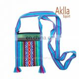Handmade Inca Woven Thongs, Cellphone Holders 7 Inch