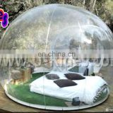 transparent bubble inflatable circus tent for accommodation