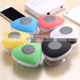 Waterproof Mini Bluetooth Speaker Sucker Portable Wireless Speaker Perfect Sound Stereo Music Surround Player