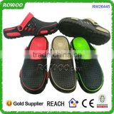 Simple customer shoes black eva men fashion slipper