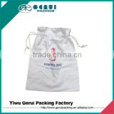 cotton drawstring bags/cotton fabric drawstring bags