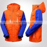 woman ski jacket Removable Sleeves any match