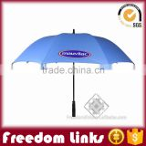 customizd golf umbrella ,standard umbrella size with low price
