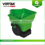 Plastic hand fertilizer spreader ,3L drop spreader, lawn seed spreader
