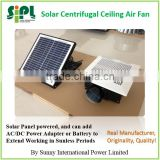 SIPL 17 watt Solar Panel Powered Ceiling Air Exhaust Plastic Fan