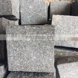 Black porphyry Cobble stone for paving