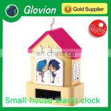 Hot sale new design Battery plastic cuckoo clock for kids