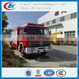 china cheap 6cbm 4X2 pump fire truck for hot sale
