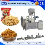 Automatic corn grits cheetos/kurkure/nik naks/corn curls extruder machinery production plant