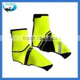 Hi-Vis Yellow PU gardening rubber overshoes for men shoes