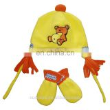 Fleece Hat&mittens for Kids