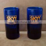 plastic shot cup wine shot glass For Skyy Vodka