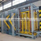 Wood Plastic Composite construct formwork making machine