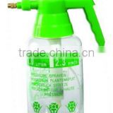 plastic transparent with scale printing garden sprayer