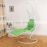Outdoor swing egg chair/rattan swing hanging egg chair/indoor hanging swing egg chair