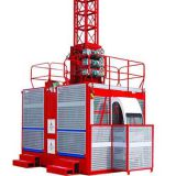 Construction hoist double cage 2X2 tons