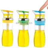 550ml glass measuing oil and vinegar bottle