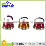 Funny <b>yellow</b> color 2.5L induction stainless steel <b>tea</b> or water whistling <b>kettle</b>
