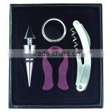 Deluxe <b>wine</b> gift <b>set</b>/<b>corkscrew</b>/<b>wine</b> stopper