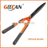 steel handle manual hedge shears for cutting grass