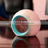 Newest Portable Plastic Talking Alarm Clock from Alarm Clock Manufacturer