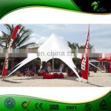 Dia 12m White Outdoor Spider Advertising Cheap Star Shade Star Tent