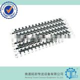 M2540 Modular Plastic Conveyor Belt with Rubber