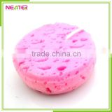 Wholesale round and pink foam loofah body bath sponge                                                                         Quality Choice
