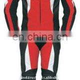 Leather Racing Gents Suit,Professional leather motorbike Racing suits