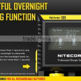 NiteCore d2 charger Intellicharger spot welding machine Battery Charger Li-ion /Ni-MH LiFePO4 portable dual usb car charger