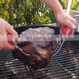 Stainless Steel Meat Handling Claws / Bear Paw Shredder fork BBQ Bear Claws