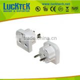 Travel <b>Adaptor</b> 3 Pin <b>UK</b> into 2 Pin <b>Plug</b> Euro Adapter