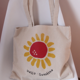 Promotional Three Color CanvasWholesale Tote Bags