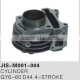Motorcycle parts & accessories cylinder/engine for GY6-60 D44.4-STROKE