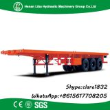High Quality Factory 13T Fuwa Axle 40 Ton Skeleton Semi Trailer ,Container Semi Trailer Factory Price