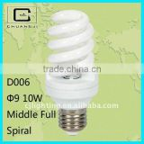 D006 long lifetime;high quality;high brightness;low price;110-220v Energy Saving spiral light bulb