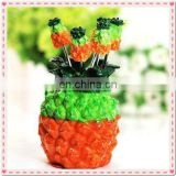 Wedding Gift Pineapple Design Fruit Fork