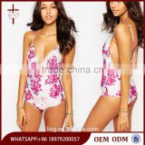 2015 Stretch swim fabric Somedays Lovin Blooming Swimsuit
