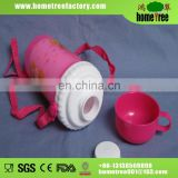 Plastic kids water plastic bottle 330ml with cup