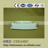 New style stock ceramic ozone plate with Metal handle