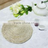 Wholesale woven straw round dining table placemats