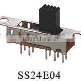 SS24E04 2P4T slide switch