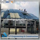 Easy Assembly Steel Structure Glass Dome