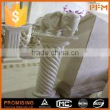 newly decoration natural marble column and base