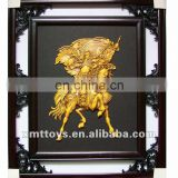 resin wall picture frame with chinese antique hero