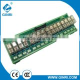 MIL/IDC Connector 16 Channel 1a OMRON Relay Module (PLC Output Amplified Board) JR-B16LC-P/24VDC