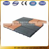 Outdoor interlocking floor tiles WPC,Outdoor Lowes Cheap Wpc Diy Interlocking Composite Deck Tiles