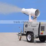 mobile diesel power spray mist dust from manufacture price