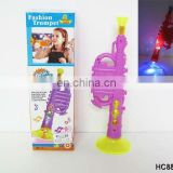 Flashlight musical plastic trumpet toy